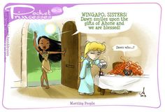 Some princesses are morning people, some are not. | What If The Disney Princesses All Lived Together?