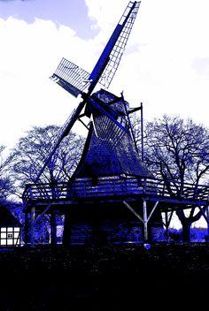 Kolthoffsche Mühle Lvern, kleiner Galerie-Holländer von 1922