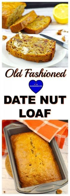 Old Fashioned Date Loaf| Foodmeanderings.com A simple, traditional date nut loaf that has been passed on for 6 generations. #datebread #datenutloaf #dateloaf