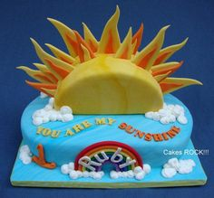 You Are My Sunshine - Cake by Cakes ROCK!!!