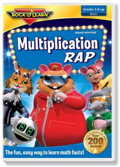 8 best multiplication 3rd grade math multiplying facts through multiplication facts through 12 are easy to learn and remember with a unique song for each fandeluxe Image collections