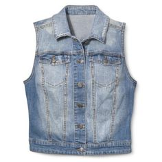Mossimo Supply Co. Junior's Denim Vest - Assorted Colors
