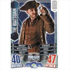 Doctor Who Alien Attax 50th Anniversary 65 The Boatswain Common on eBid United Kingdom