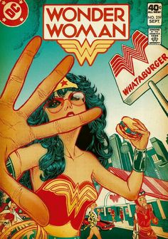 Cartoons And Heroes — detective-comics: Wonder Woman by Javier. Wonder Woman Y Superman, Wonder Woman Comic, Wonder Women, Lynda Carter, Bruce Timm, Justice League, Comic Book Covers, Comic Books, Super Heroine