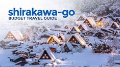Shirakawa Go On A Budget Travel Guide Amp Itinerary The Poor Europe Travel Tips, Packing Tips For Travel, Travel Essentials, Budget Travel, Travel Guide, Europe Packing, Traveling Europe, Backpacking Europe, Packing Lists