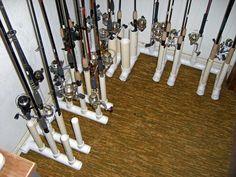 Homemade PVC Rod Holders