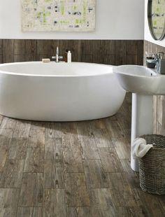 tendance salle de bain ceramique fini bois 5 Tendances décoration 2014 pour la salle de bain
