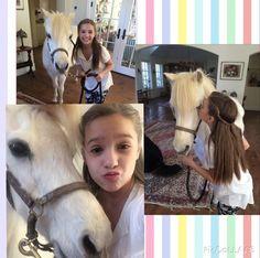 Mackenzie with Pearl the Pony Mackenzie Ziegler, Maddie Ziegler, Dance Moms, Mack Z, Face Swaps, Show Dance, Dance Lessons, Dance Company, Pretty Little Liars