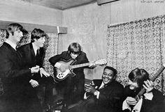 1964: The Beatles meet Fats Domino