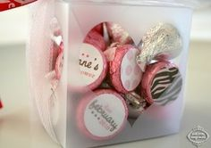 Affection for Detail: Printable Hershey Kiss Labels
