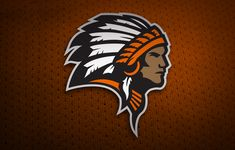 Sports Logo Design Indians Ogallala Nebraska High School Athletic Department