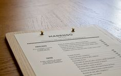 Detalle carta madera Marengo