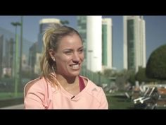 Angelique Kerber | 2016 Qatar Total Open Pre-Tournament Interview