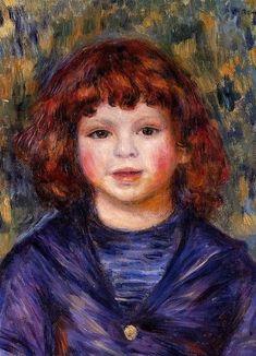 Pierre Renoir Pierre Renoir peint par son père Auguste Renoir