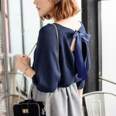 Buy 'Tokyo Fashion – Tie-Back Knit Top' with Free International Shipping at YesStyle.com. Browse and shop for thousands of Asian fashion items from Taiwan and more!