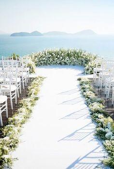 Wedding Ceremony Ideas, Wedding Altars, Wedding Scene, Sunset Wedding, Wedding Trends, Wedding Tips, Wedding Planning, Wedding Hacks, Wedding Church