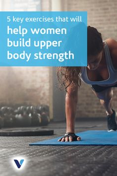 Solid upper-body strength makes everything from carrying heavy groceries to nailing perfect pullups much easier—but for many women, building a strong . Fitness Motivation, Fit Girl Motivation, Fitness Tips, Health Fitness, Get Healthy, Healthy Weight, Healthy Tips, Muscle Imbalance, Upper Body