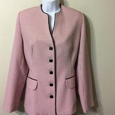 Sag Harbor suit separate Size 10 jacket NWOT very dressy jacket ,fits good to size 10 Sag Harbor Jackets & Coats