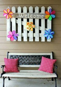 Love this welcome sign