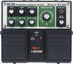 Boss RE-20 Space Echo Delay / Reverb Pedal