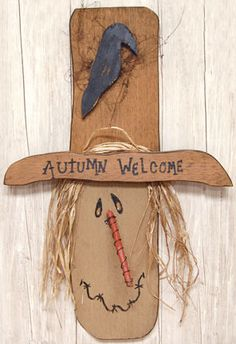 Take a look at the gallery for more DIY scarecrow ideas for kids. scarecrow craft template, scarecrow craft patterns, making scarecrows in the classroom Wood Scarecrow, Scarecrow Crafts, Fall Scarecrows, Scarecrow Ideas, Ceiling Fan Parts, Ceiling Fan Blades, Ceiling Fans, Primitive Fall, Primitive Crafts