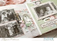 Семейный альбом от Марины Рябининой - FLEUR design Blog