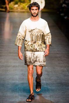 Male Fashion Trends: Dolce & Gabbana Spring/Summer 2014 - Milán Fashion Week #MFW