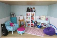 American girl dollhouse living room Follow my dolls house ideas on pinterest for more inspiration