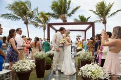 casamento em Natal #casamento Acessem http://noivadeevase.com/casamentos-reais-cecilia-e-gabriel/