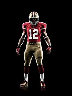 0c204ab50f SAN FRANCISCO 49ERS 2012 NIKE FOOTBALL UNIFORM Nhl Logos