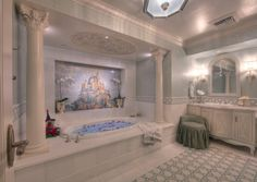 how to decorate like the cinderella suite at walt disney world - Google Search