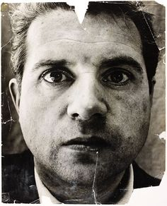 Francis Bacon photgraphed by John Deakin in 1952.
