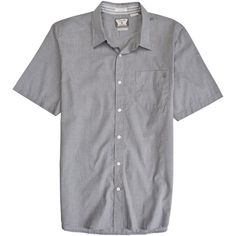 Volcom Why Factor End Short Sleeve Button Down