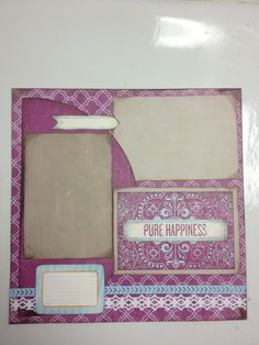Created using the new Vintage Chic power palette from Creative Memories