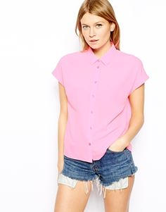 Enlarge ASOS Cap Sleeve Blouse