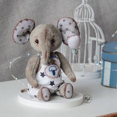 Jumbo, art, doll, handmade Teddy Bear, Dolls, Handmade, Animals, Art, Baby Dolls, Art Background, Hand Made, Animales