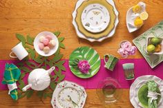 How to create a gorgeous spring tabeltop
