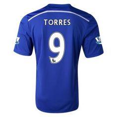 Nueva Camiseta de Torres del Chelsea Primera 2014 2015