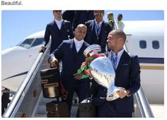 Portuguese footbal national team brings the EURO 2016 trophy home Cristiano Ronaldo, Portugal Fc, Lisbon Airport, We Are The Champions, Gareth Bale, Real Madrid, Christian Louboutin, Celebrity Style, Football