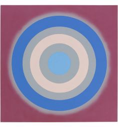 Kenneth Noland, Mysteries: Agate, 2002. Pace Gallery is proud to now represent the estates of Kenneth Noland and Richard Pousette-Dart. Works by these two major American artists will be on view at Art Basel Miami Beach.