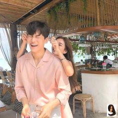Korean Couple, Best Couple, Cute Korean, Korean Girl, Couple Goals Cuddling, Korean Best Friends, Matching Couple Outfits, Boy And Girl Best Friends, Ulzzang Couple