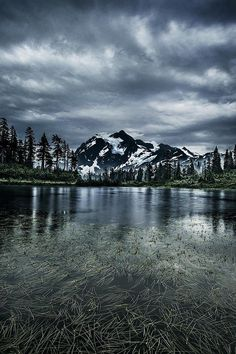 Mount Shuksan, North Cascades National Park - Washington