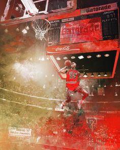 Michael Jordan '1988 Slam Dunk Contest' Art