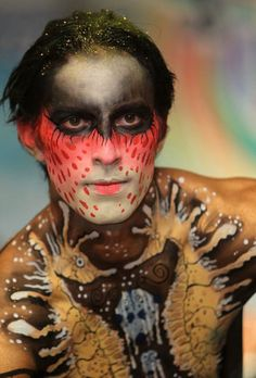 International Body Art Competition On Thailand photo