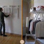 temporary closet