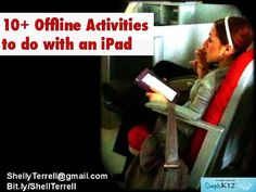 Shelly shares 10 activities to be used with iPads