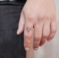 Foxy Finger Tat - Little Tattoo Ideas That Are Perfect For Your First Ink - Photos