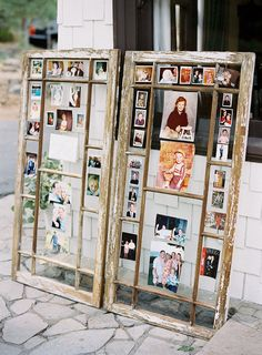 Not EXACTLY a DIY project - but super fun way to display your photos at your wedding! Photography by coopercarras.com