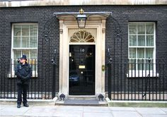 10 Downing Street - The residence of The Prime Minister. Noel Gallagher of Oasis met with PM Tony Blair here in 1997