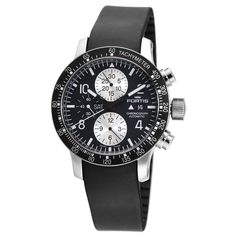 Sporty and elegant – the B-42 Stratoliner Automatic Chronograph Fortis Men's B-42 Stratoliner Automatic Chronograph Watch is a part of famous brand's Aviation collection. Classic chronograph with tachymetre function, both sporty and elegant, offers high functionality and clear design details.